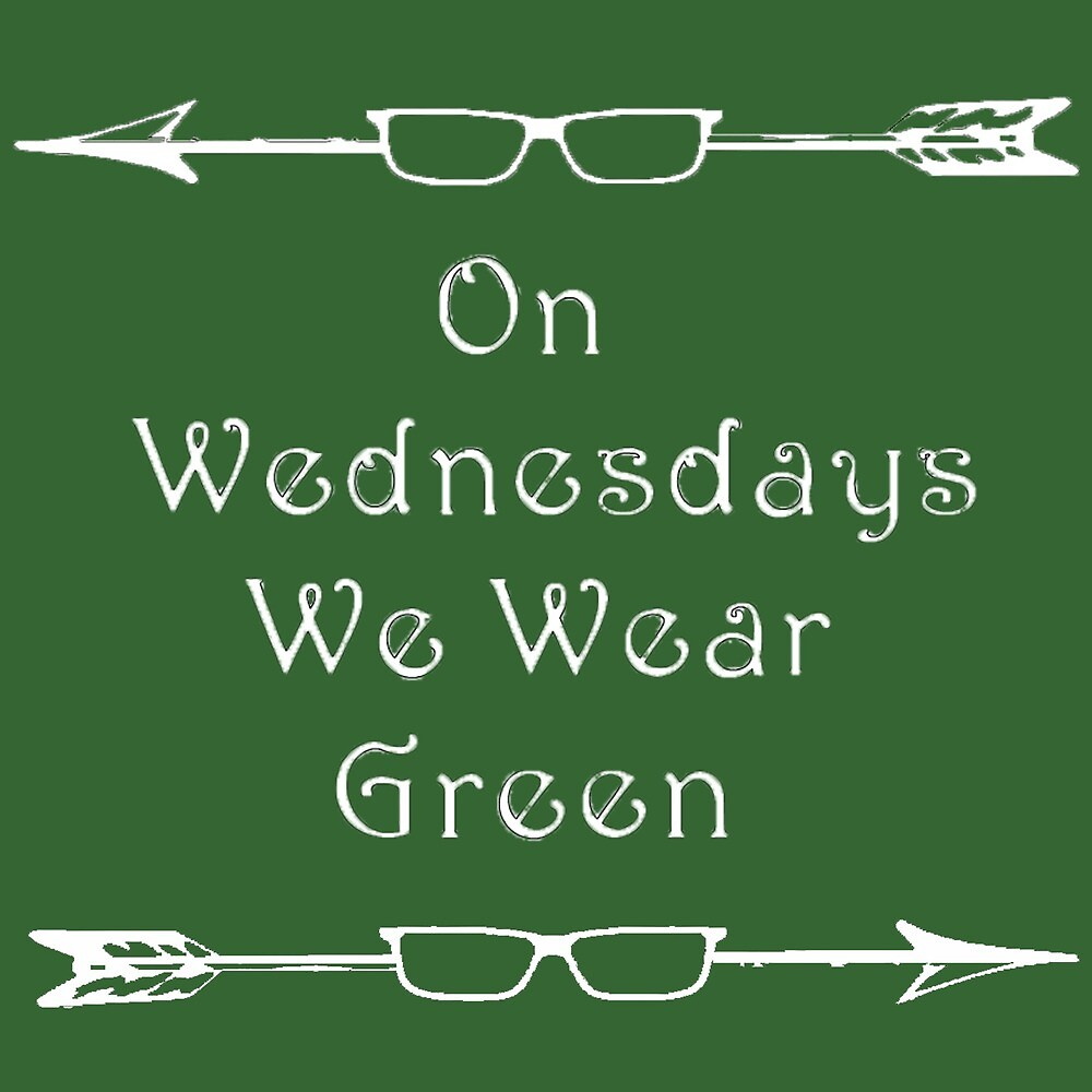 Olicity/Arrow: On Wednesdays We Wear Green by aubvi