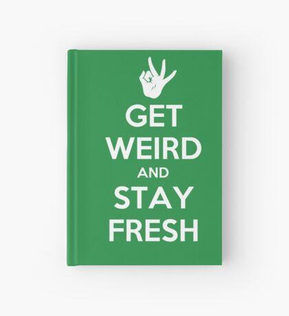 Stay Fresh Hardcover Journal