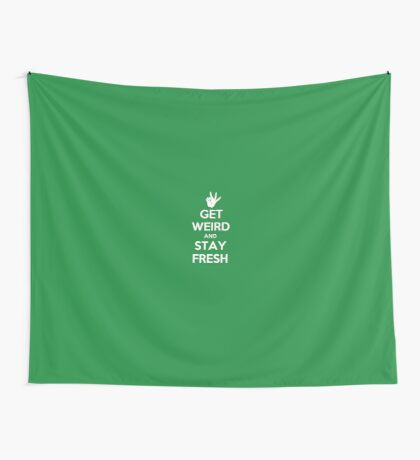 Stay Fresh Wall Tapestry