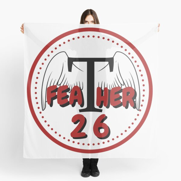 Feather26 Streaming Logo Scarf