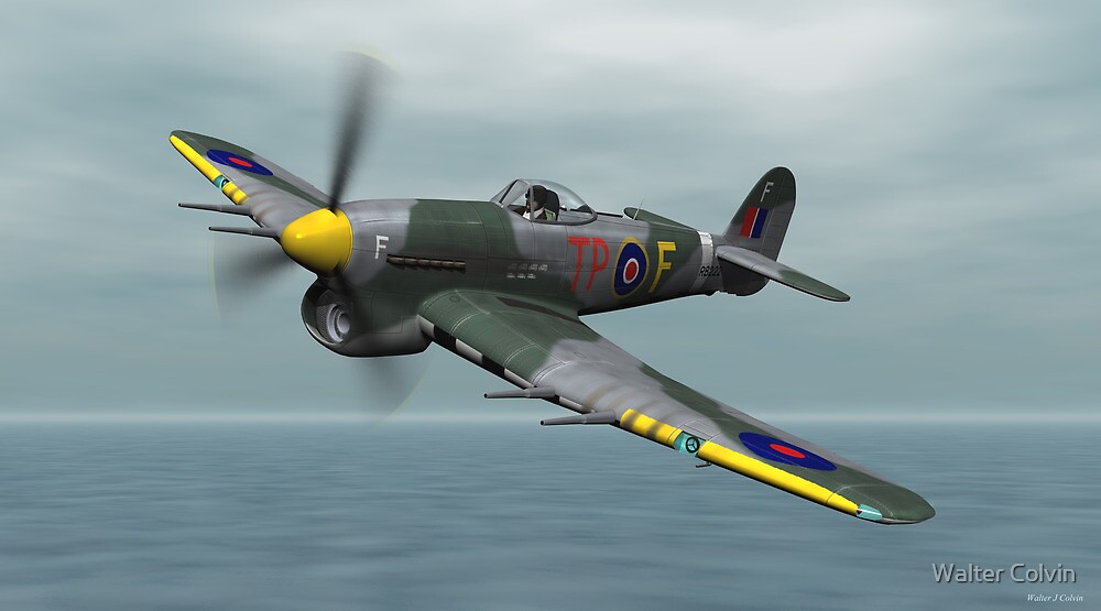 Hawker Typhoon By Walter Colvin