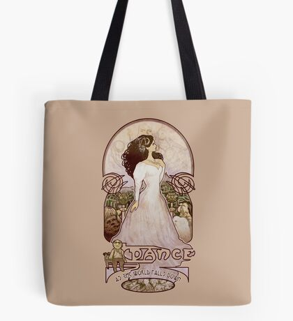 As the World Falls Down Tote Bag