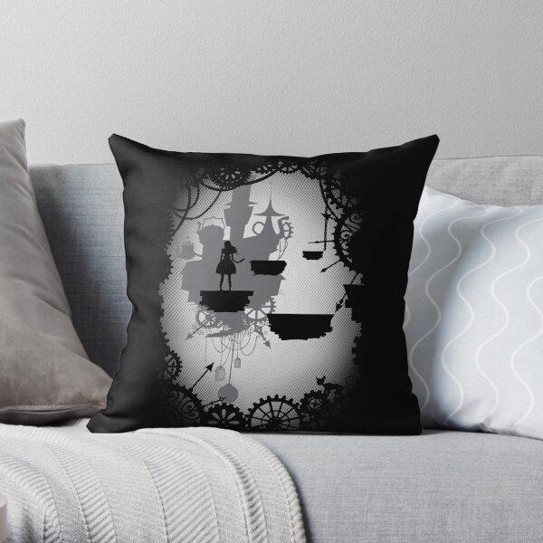 Alice in Limbo Throw Pillow