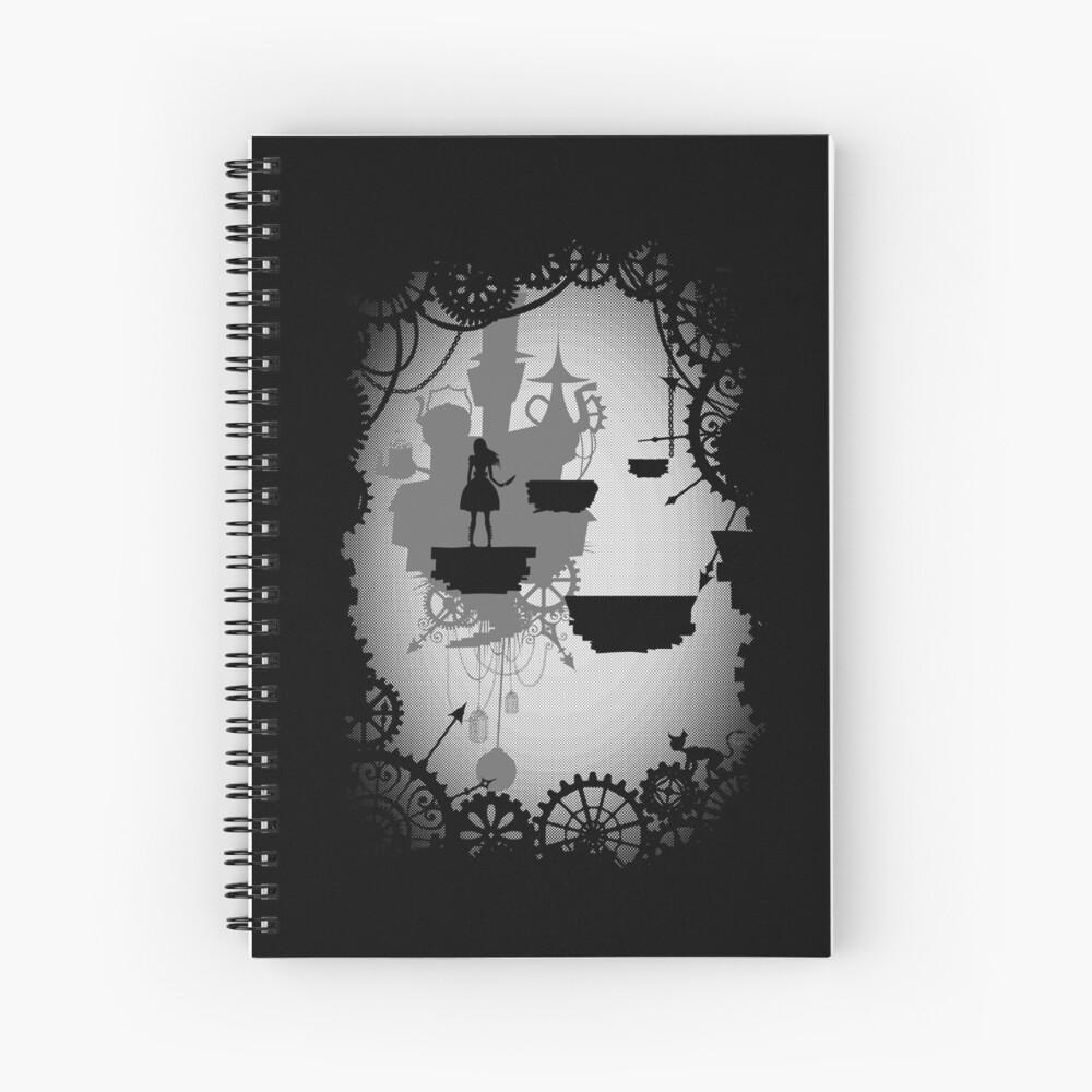 Alice in Limbo Spiral Notebook