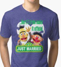 Bert & Ernie - Just Married Tri-blend T-Shirt