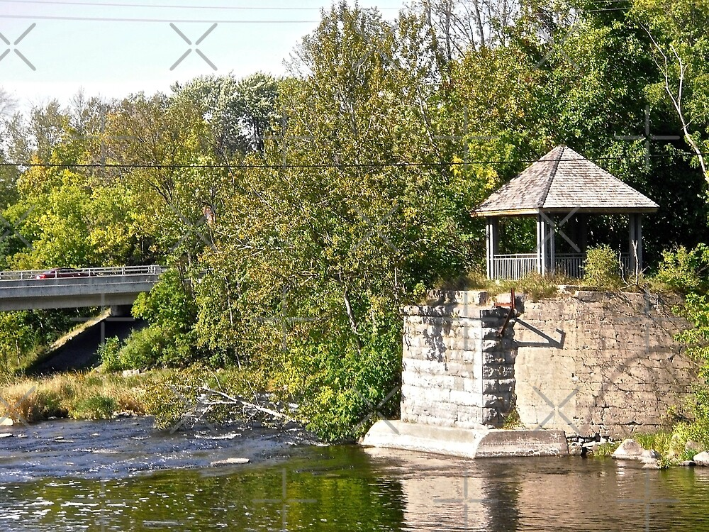 Gazebo at Watson's Mill , Manotick, ON, Canada by Shulie1
