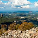 View from Mt Beerwah Peak by BaroqueLover