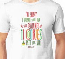 Buddy the Elf - 11 Cookies Unisex T-Shirt