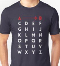 A to B (v2) T-Shirt