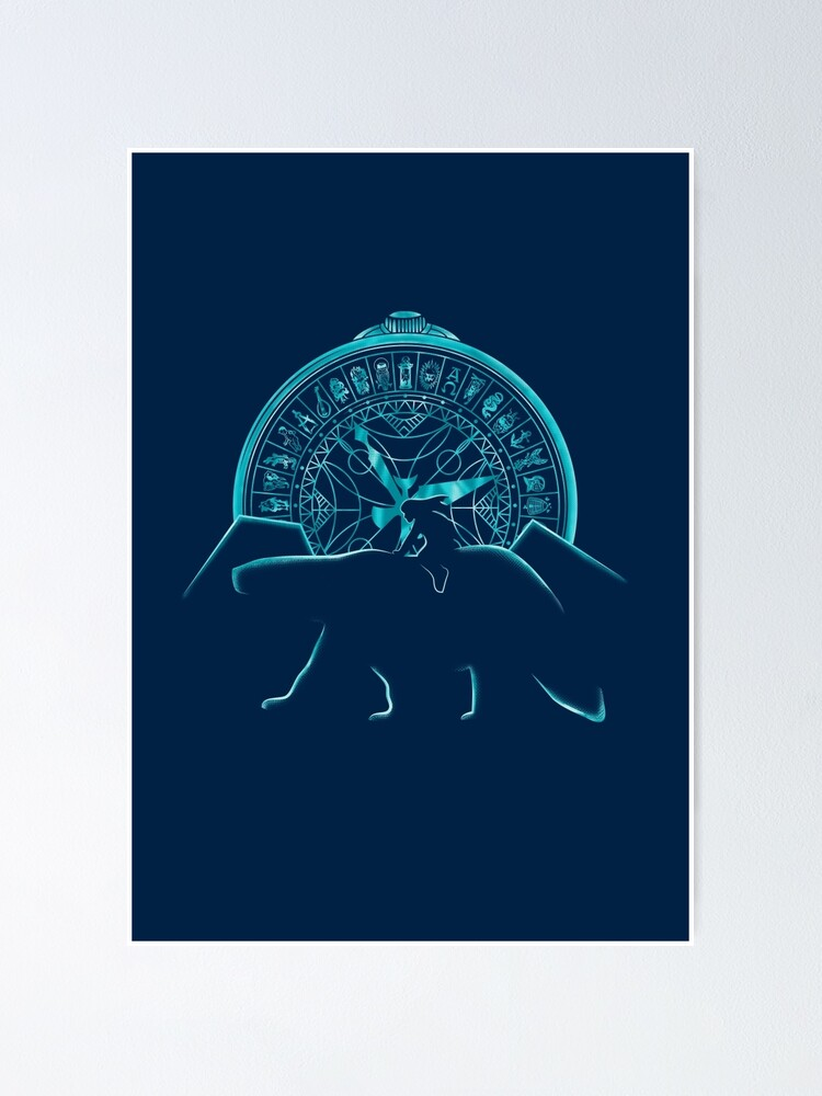 Alternate view of Northern Lights Poster