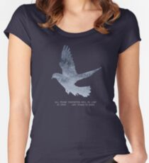 Blade Runner Quote Women's Fitted Scoop T-Shirt