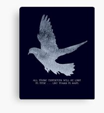 Blade Runner Quote Canvas Print