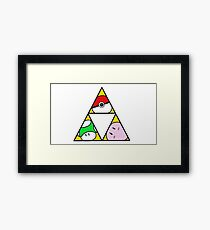 Triforce of Nintendo Framed Print