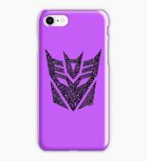 Transformers Decepticons iPhone Case/Skin