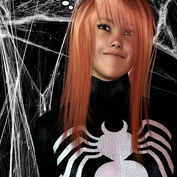 WHAT IF: MARY JANE BECOMES SPIDERWOMAN by FractalKing