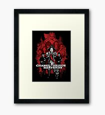 Changlourious Basterds (Any Shirt Colour) Framed Print