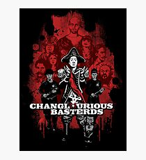 Changlourious Basterds (Any Shirt Colour) Photographic Print