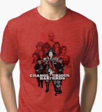 Changlourious Basterds (Any Shirt Colour) Tri-blend T-Shirt