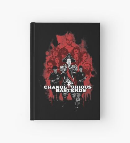 Changlourious Basterds (Any Shirt Colour) Hardcover Journal