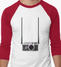 Leica M3 with 50mm Summilux f1.4 Men's Baseball ¾ T-Shirt