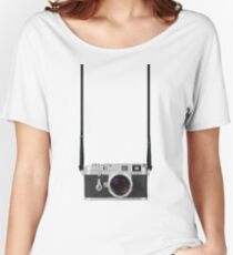 Leica M3 with 50mm Summilux f1.4 Women's Relaxed Fit T-Shirt