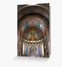 The Votive Church of Our Lady of Hungary  Greeting Card
