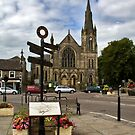 Barnard Castle (Town and Church) by BizziLizzy