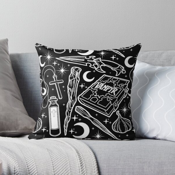 Buffy the Vampire Slayer Weapons Throw Pillow