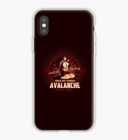 AVALANCHE Wants YOU! iPhone Case