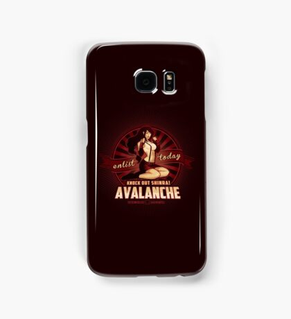 AVALANCHE Wants YOU! Samsung Galaxy Case/Skin