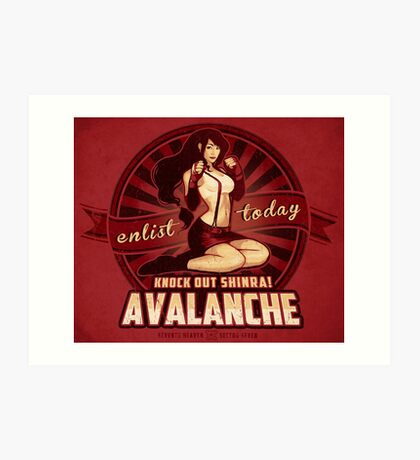 AVALANCHE Wants YOU! Art Print