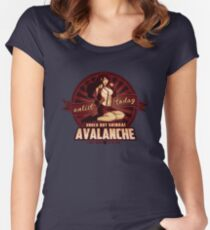 AVALANCHE Wants YOU! Women's Fitted Scoop T-Shirt
