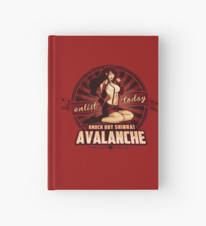 AVALANCHE Wants YOU! Hardcover Journal