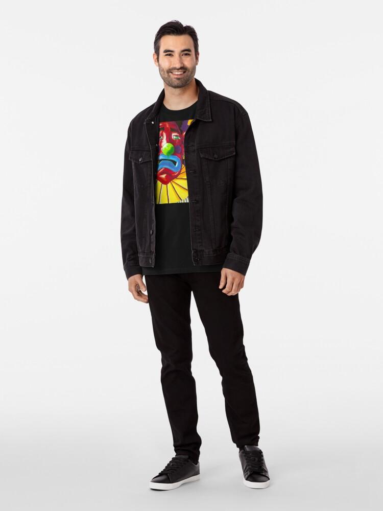 Alternate view of Happy and Sad Premium T-Shirt