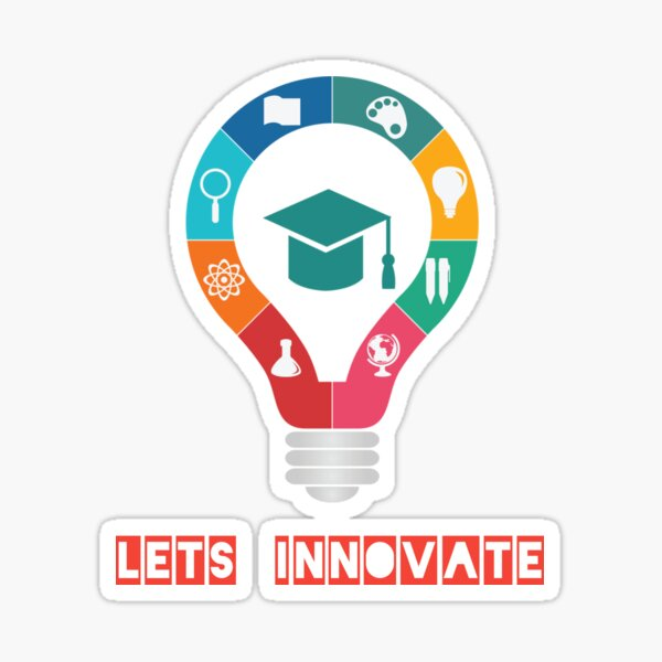 Experiment and Innovate Sticker