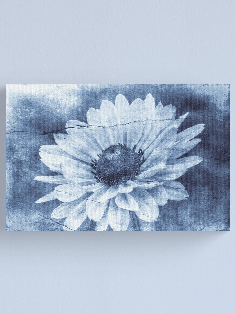 Alternate view of If Daisies Wore Blue Jeans Canvas Print