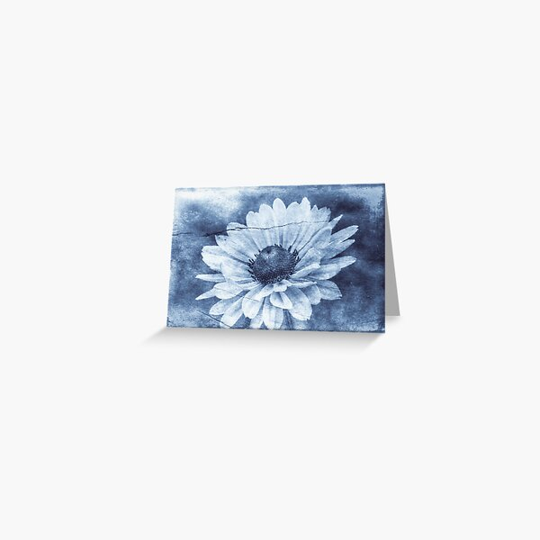 If Daisies Wore Blue Jeans Greeting Card