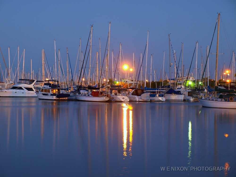 Manly Boat Harbour by W E NIXON  PHOTOGRAPHY