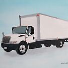 Straight Truck by Joann Barrack