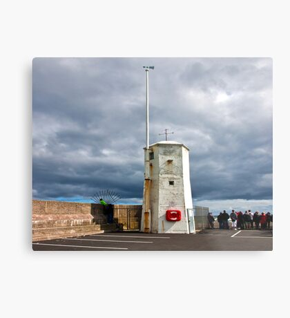 At The End of The Pier Metal Print