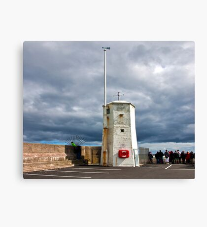At The End of The Pier Canvas Print