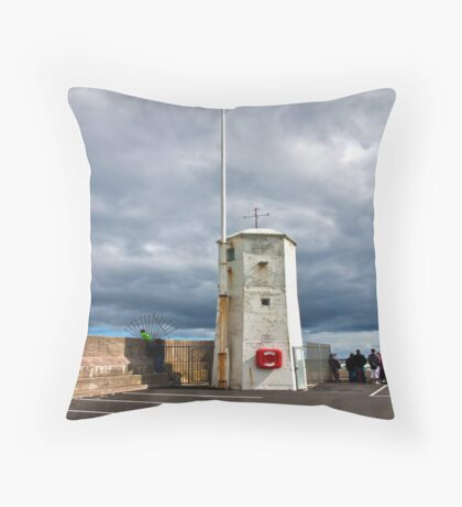 At The End of The Pier Throw Pillow