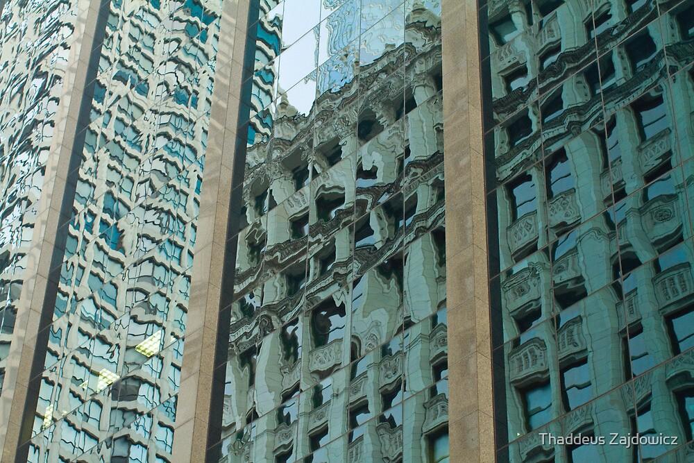 Chicago Reflections by Thaddeus Zajdowicz