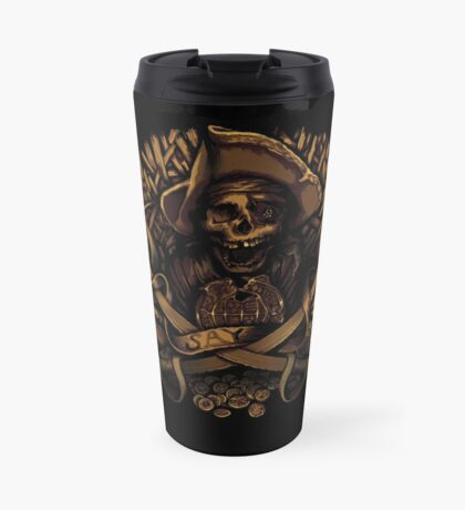 Never Say Die Travel Mug