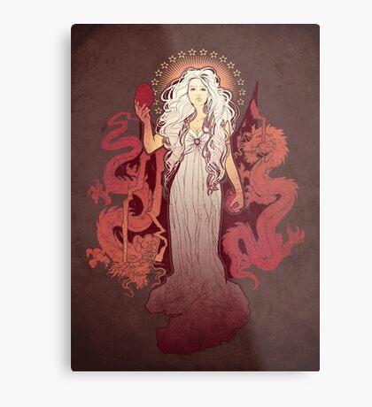 Dragon Mother Metal Print