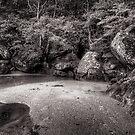 Rocks - Brisk Bay - Patonga by Jeff Catford