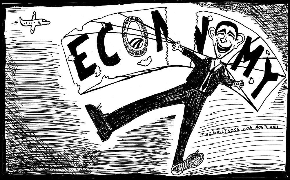 Obama Economy Parachute in Tatters by bubbleicious