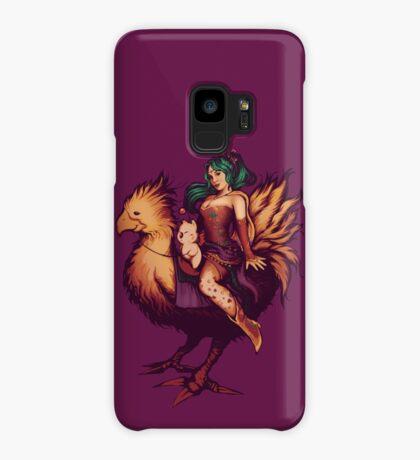 Mog's Chocobo Riding Club Case/Skin for Samsung Galaxy
