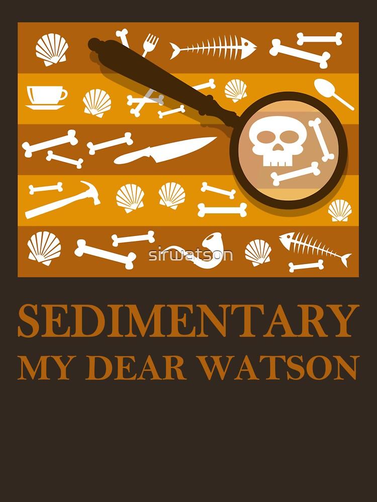 Sedimentary Watson! | Unisex T-Shirt
