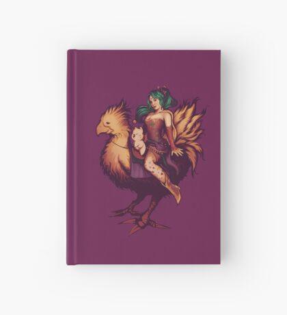 Mog's Chocobo Riding Club Hardcover Journal